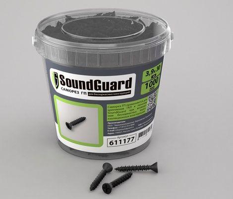 Саморезы SoundGuard ГП 3,9х30